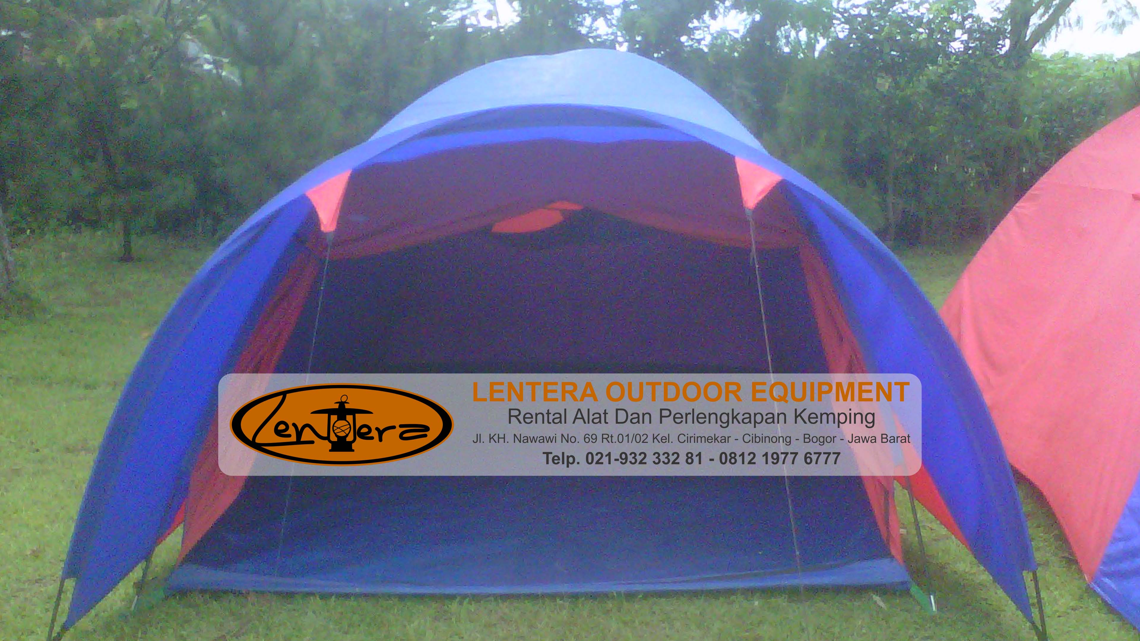 Rental Tenda Dome Pangrango - Lentera Outdoor Equipment